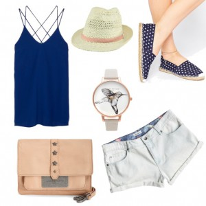 Beach Outfit 2016: Shorts & Espadrilles