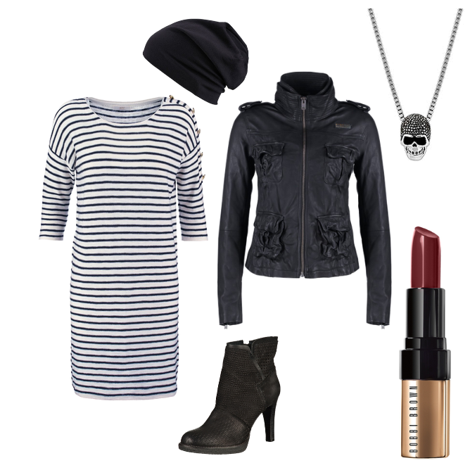 OneOutfitPerDay 2016-02-13 Rockiges Outfit