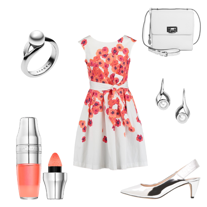 OneOutfitPerDay 2016-06-30 Sommerparty Kleid