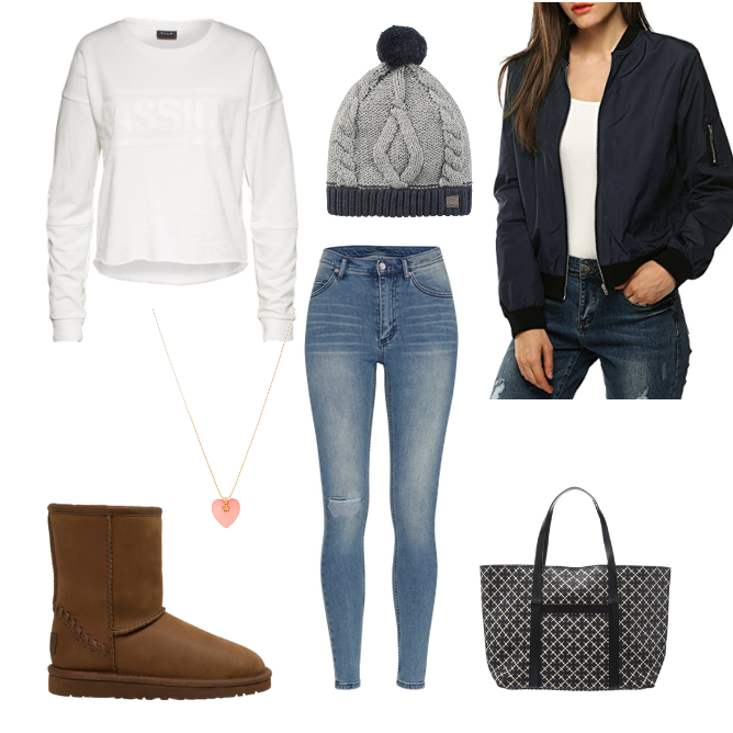 OneOutfitPerDay 2016-11-16 Outfit mit Ugg Boots