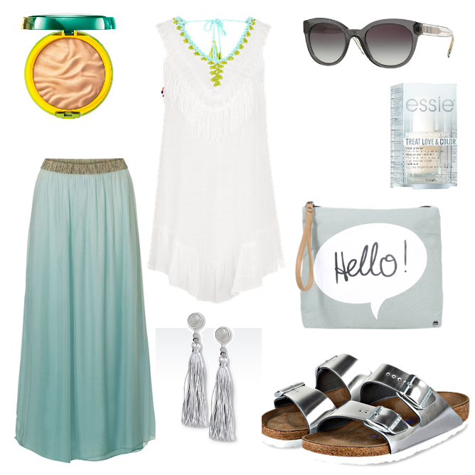 Perfektes Outfit Poolparty