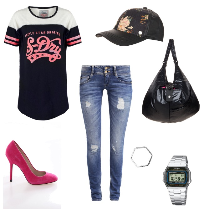 OneOutfitPerDay 2015-02-01 Super Bowl