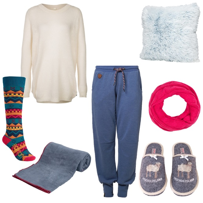 OneOutfitPerDay 2015-01-31 Home Sweet Home