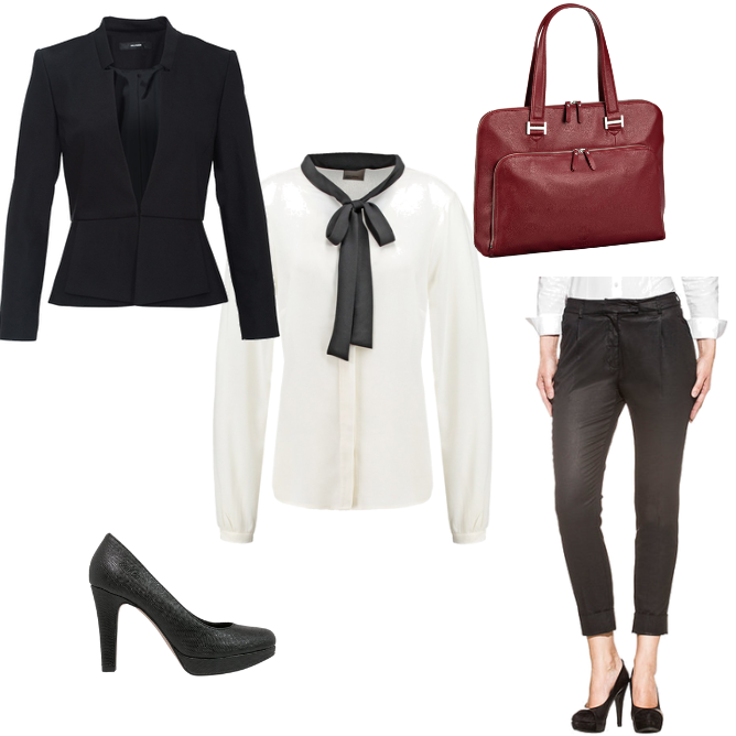 OneOutfitPerDay 2016-01-07 Business Outfit