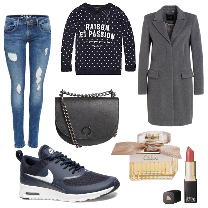 OneOutfitPerDay Frühlingsoutfit 2016-01-27