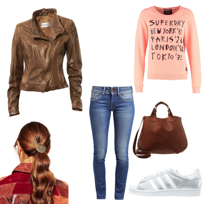 OneOutfitPerDay 2016-02-15 Modischer Casual-Look
