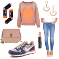 OneOutfitPerDay 2016-03-15 Oversized Look im Frühlingsoutfit
