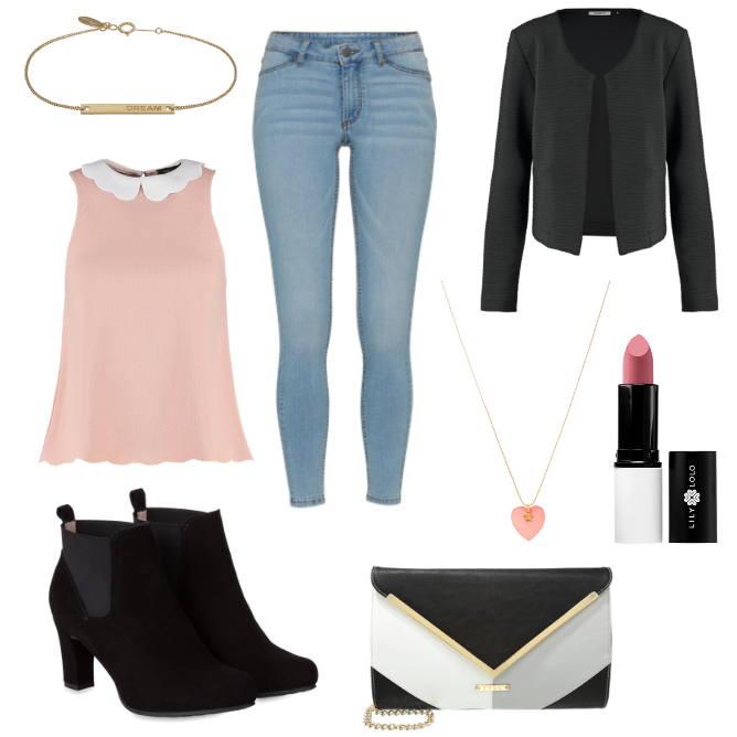 OneOutfitPerDay 2016-03-27 festliches Outfit