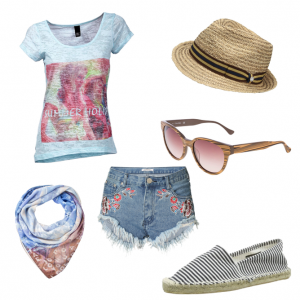 OneOutfitPerDay 2016-04-19 Sommeroutfit 2016 tolles Beachoutfit