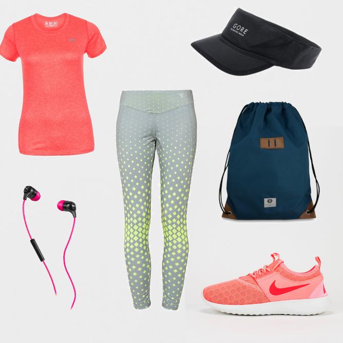 OneOutfitPerDay 2016-05-22 Marathon Outfit