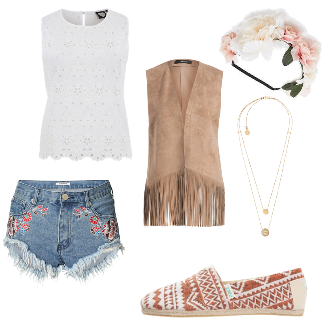 OneOutfitPerDay 2016-06-24 Festival Outfit