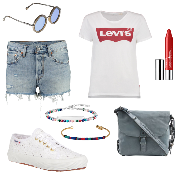 Outfit Levis Shirt